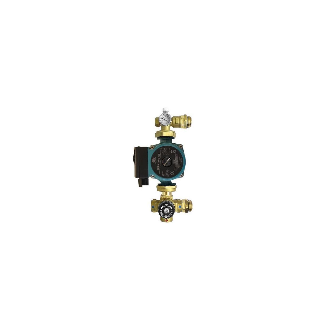 Omni Festwertregelset für Fußbodenheizung mit Pumpe 25 40 130