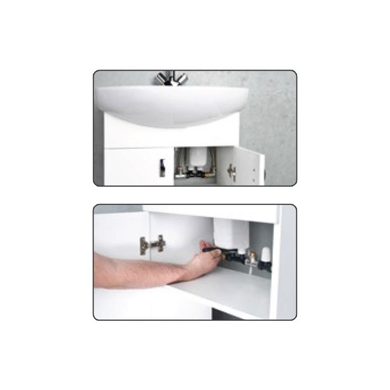 durchlauferhitzer dafi untertisch 3 7 kw bis 11kw kleindurchlauferhitzer ebay. Black Bedroom Furniture Sets. Home Design Ideas