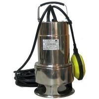 Pumpe 750W Edelstahl Wasserpumpe Gartenpumpe Tauchpumpe  Schwimmerschalter