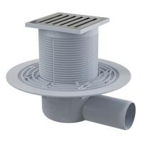 Bodenablauf Duschablauf Badablauf Design Messing begehbare Dusche DN 50 Siphon Geruchsverschluss