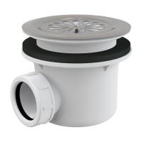 Dusche Ablaufgarnitur DN 90 Ablaufbogen Geruchsverschluss Siphon Sifon Duschtassse Garnitur rostfrei