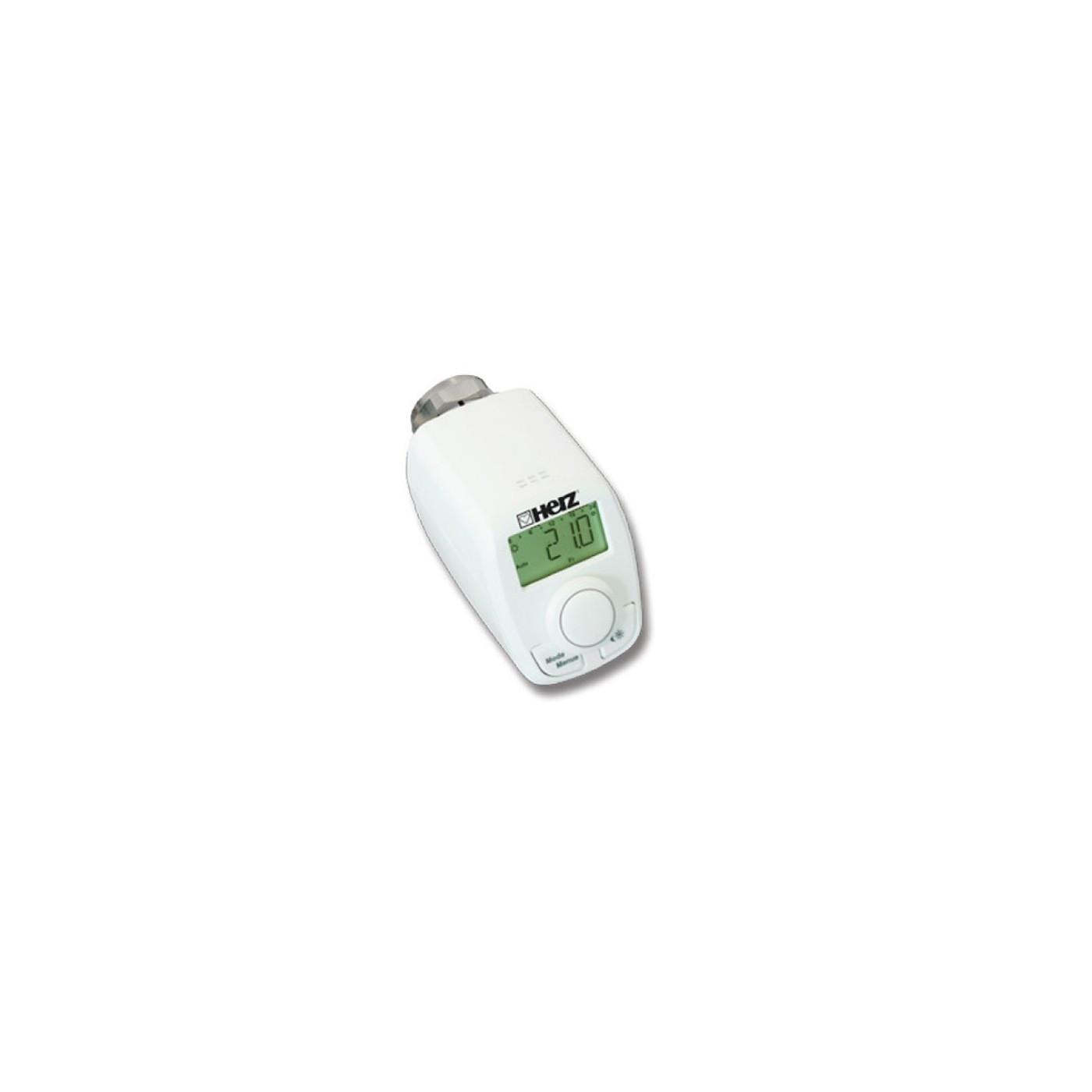 elektronischer thermostatkopf herz thermostat m 28x1 5 kopf ventil heizung heizk rper f hler. Black Bedroom Furniture Sets. Home Design Ideas