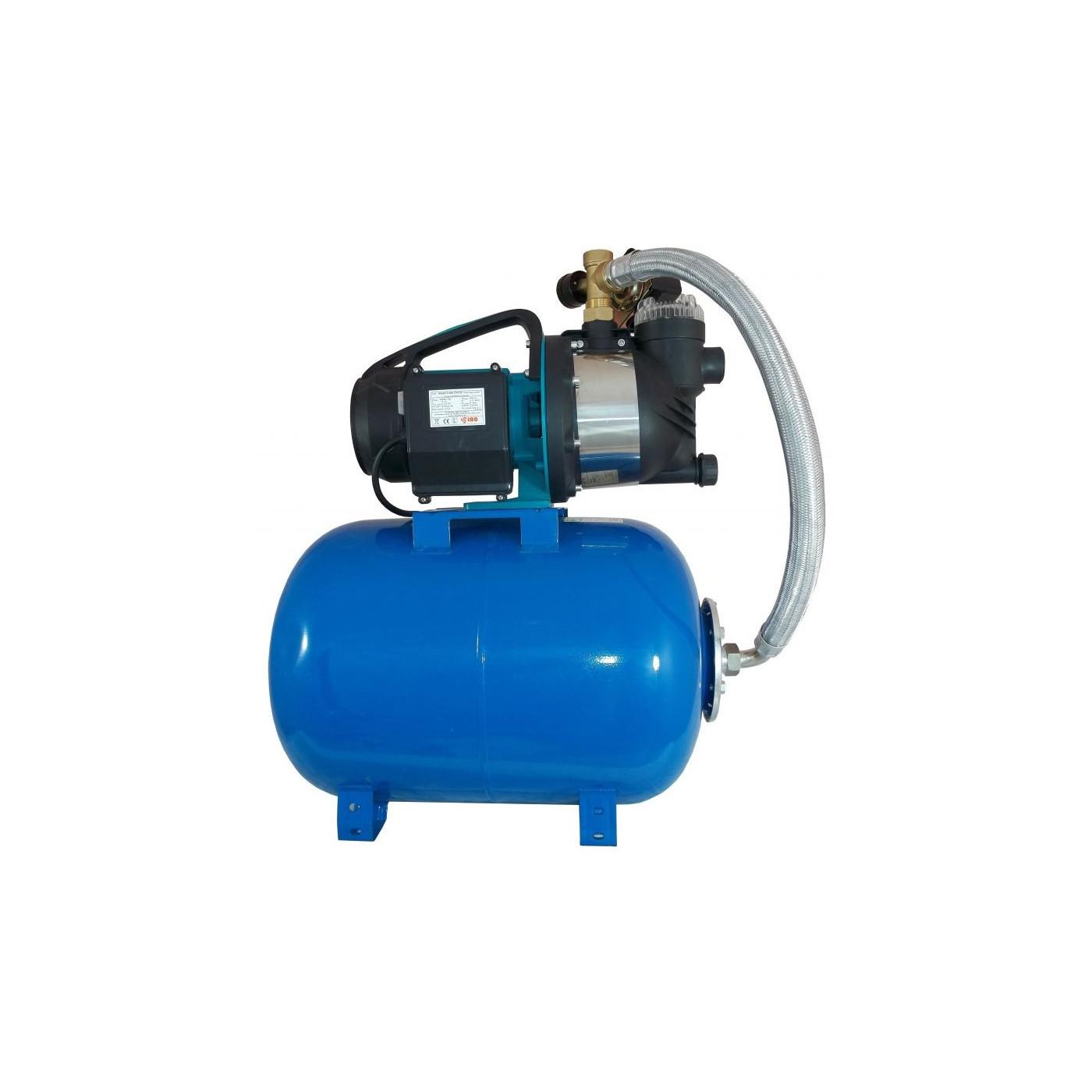 Wasserpumpe Edelstahl Gartenpumpe Hauswasserwerk Kreiselpumpe 1100Watt