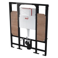 (130cm) WC Vorwandelement für Trockenbau Unterputzspülkasten Spülkasten Wand WC hängend 130 cm inkl. Schallschutz