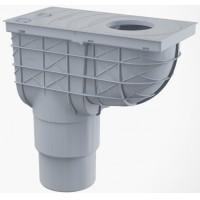 Regenrohrablauf Senkrecht Dachrinnenablauf Einlaufdurchmesser Ø80-125mm Ablaufdurchmesser DN110/125 mm