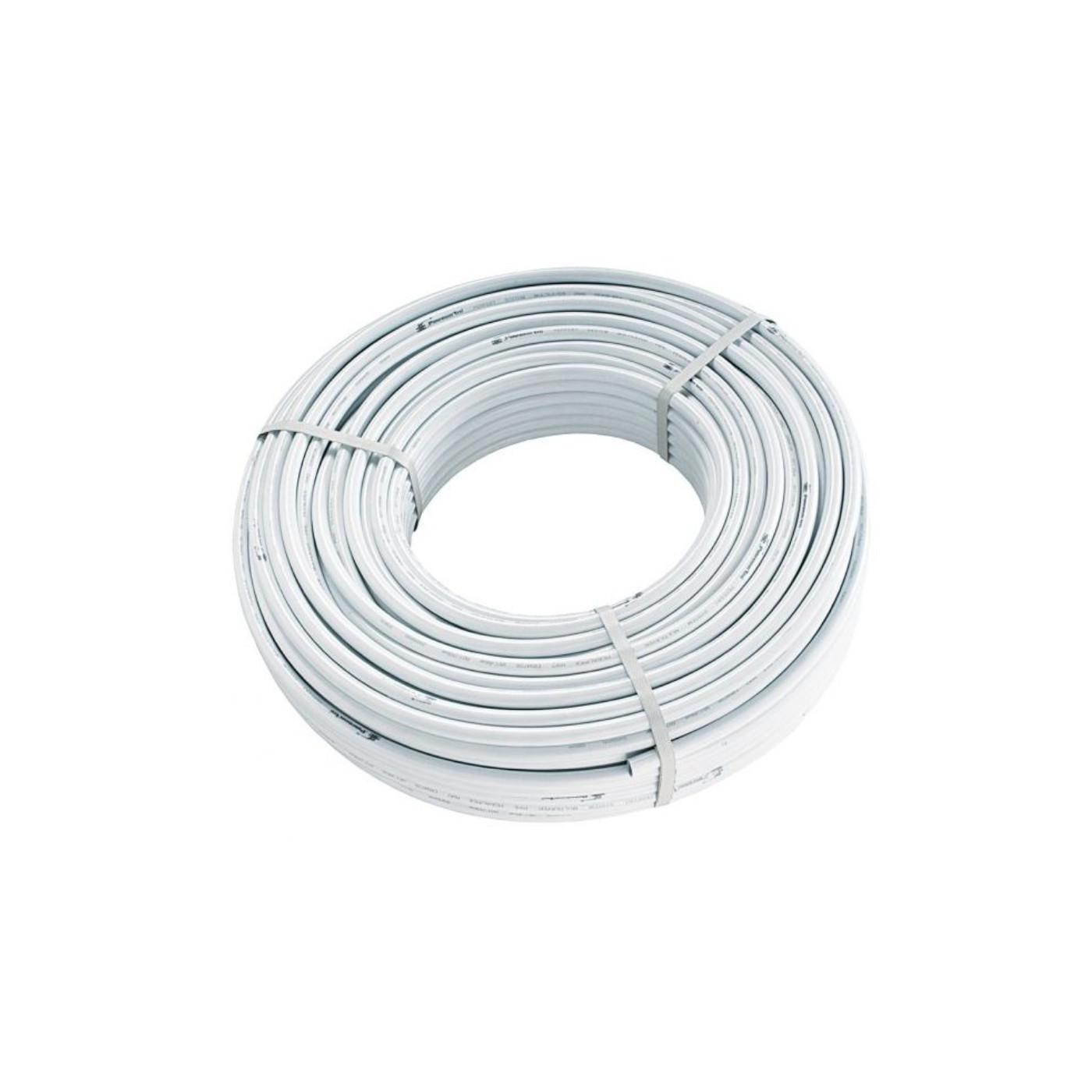 Rohr Mehrschichtverbundrohr Alu Metallverbundrohr 25 x 2,5 mm 50 Meter Rolle