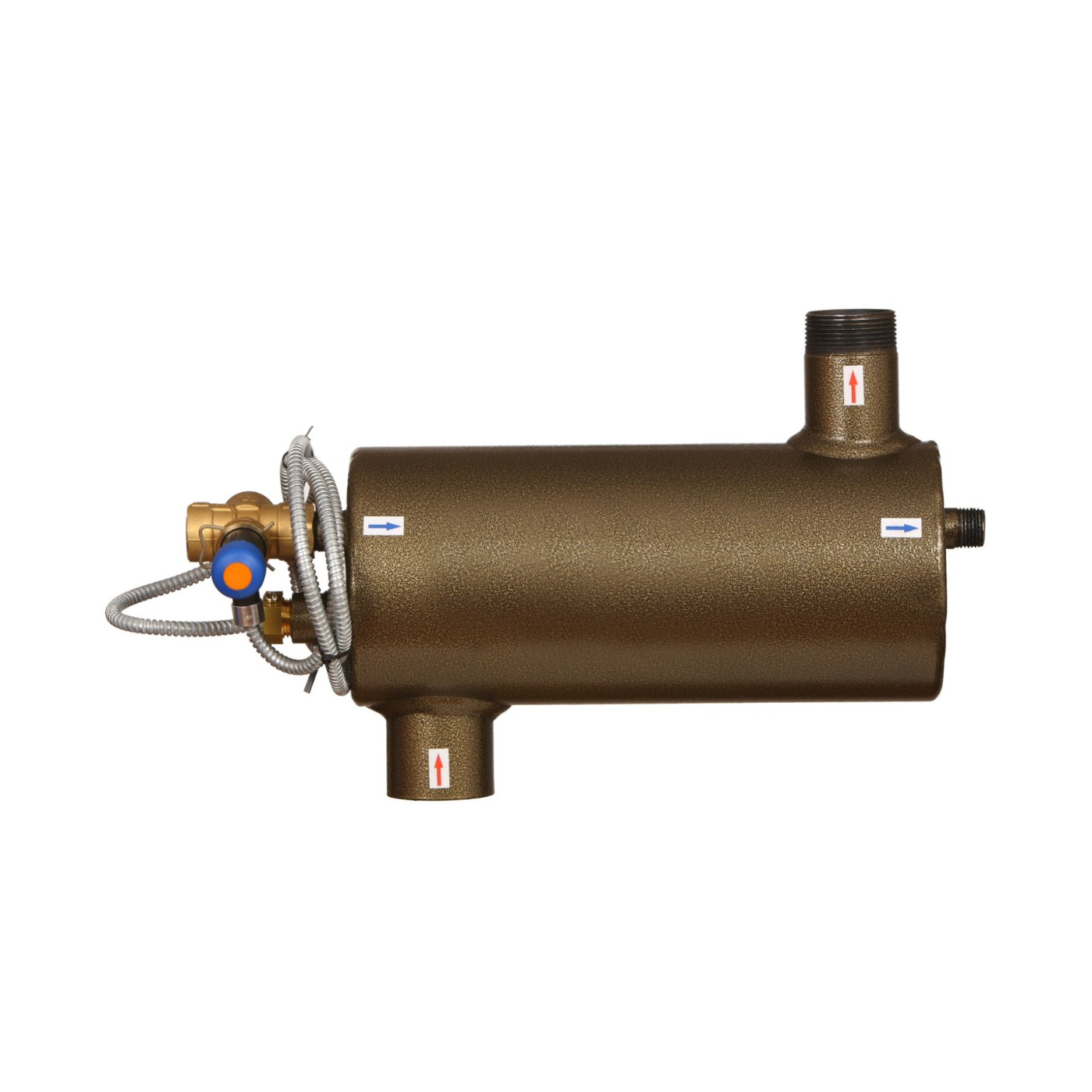 Sicherheitswärmetauscher, Thermische Ablaufsicherung Feststoffbrennkessel bis 45 kW