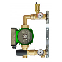 Festwertregelset für Fußbodenheizung mit Omis Pumpe 25-40-130 Neu Top