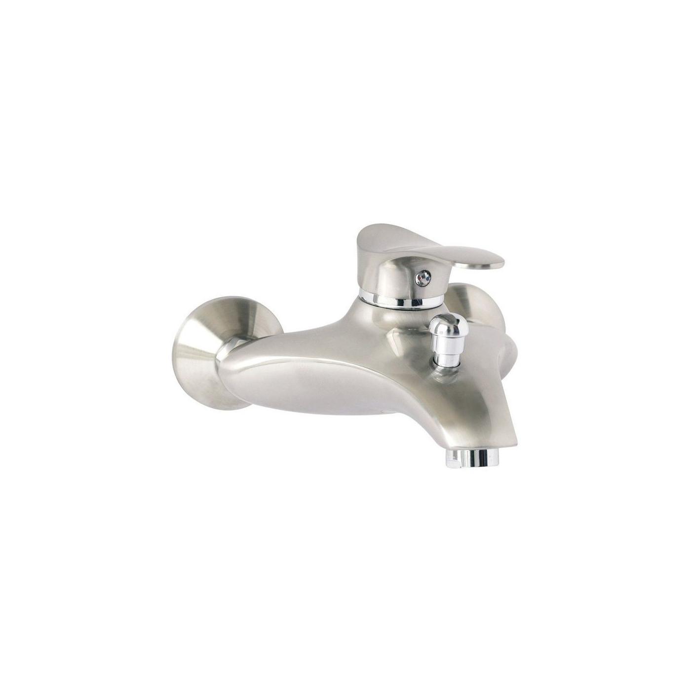 Wannenarmatur Teneriffa mit Brausekopf Badarmatur Wasserhahn