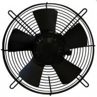 Saugventilator 250 mm Axialventilator m. Schutzgitter 230V saugend Kühlaggregat Lüfter