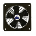 Ventilator Axial Wandventilator 250 mm1770 m³/h Gitter Abluft Zuluft Gebläse