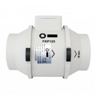 Rohrventilator DN 125 Rohrlüfter Ventilator Kanallüfter Ablüfter Kanalventilator