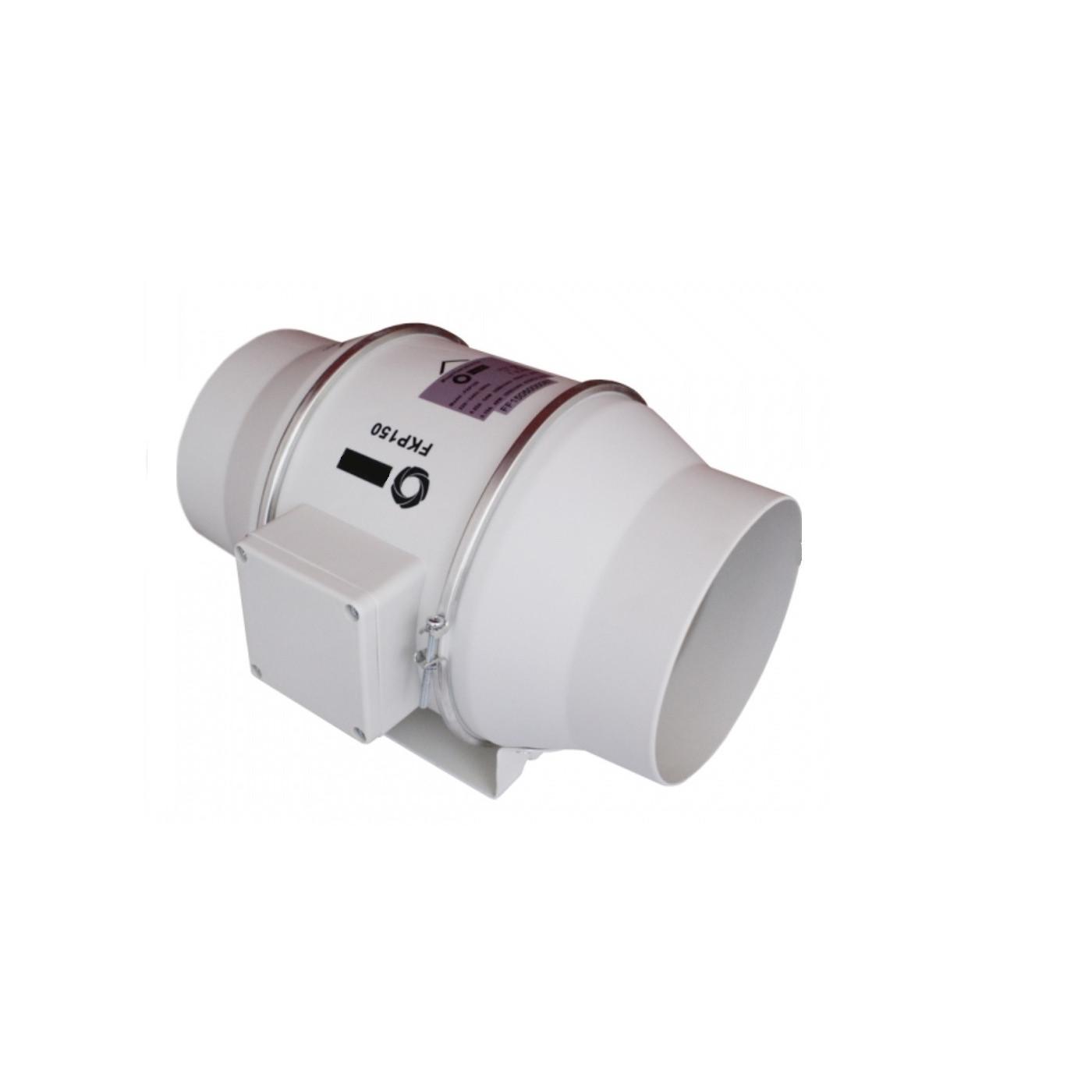 Rohrventilator DN 150 Rohrlüfter Ventilator Kanallüfter Ablüfter Kanalventilator