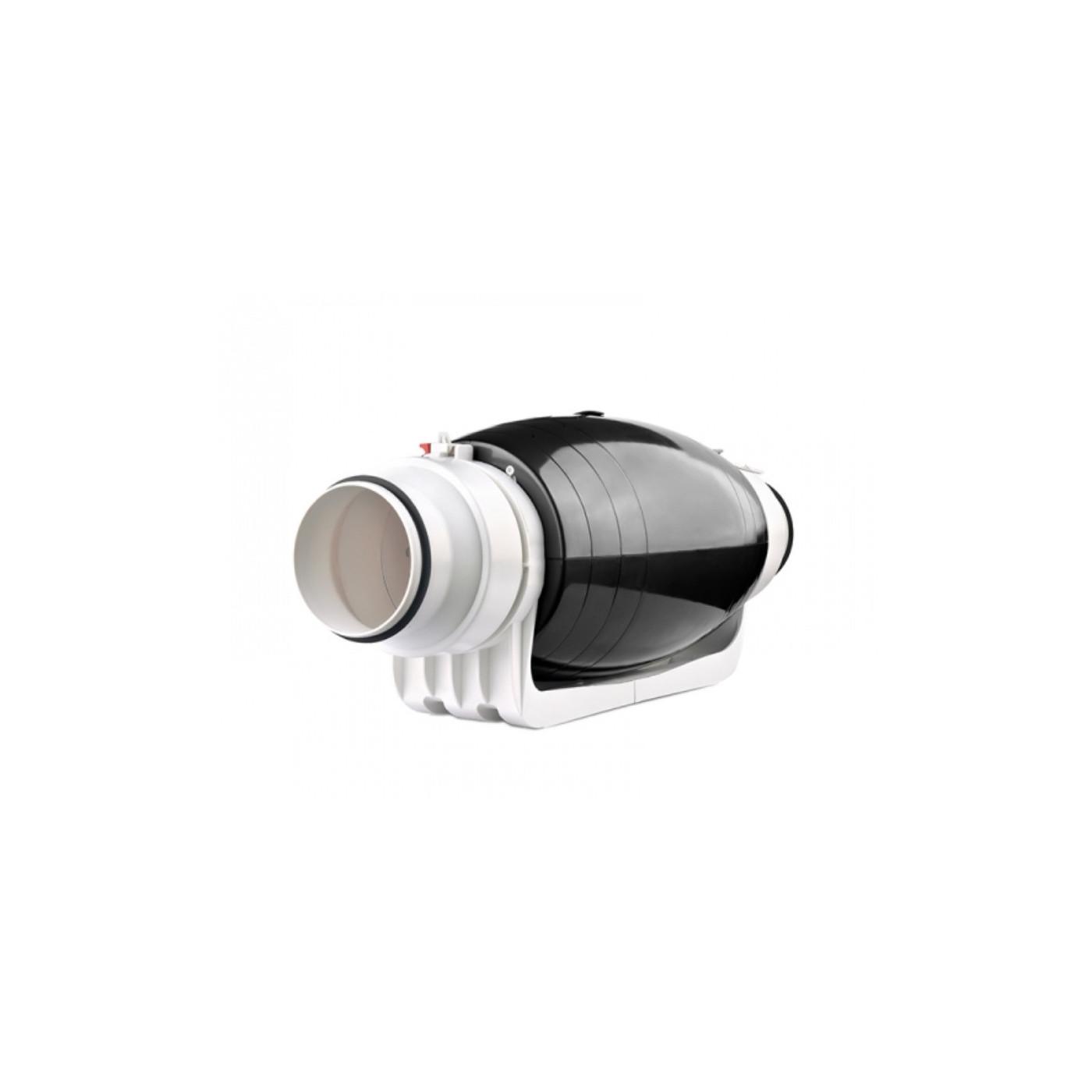 Rohrventilator DN 100 125 mm Rohrlüfter Ventilator Kanallüfter Ablüfter Kanalventilator
