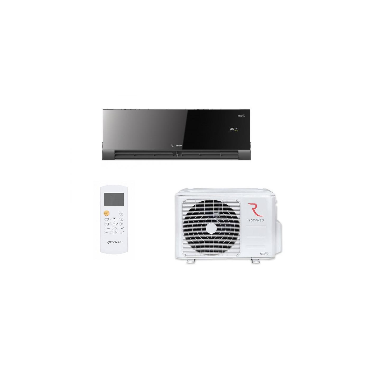 Klimagerät Klimaanlage A++ Klima 2,6 kW 230V Kühlen/ Heizen Split Anlage Montagehaken