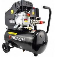 EINBACH Luftkompressor Druckluft-Aggregat 2 ,8kW m. Öl Kompressor 24L Kessel 230V