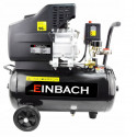 EINBACH Luftkompressor Druckluft-Aggregat 2,8 kW mit Öl Kompressor 24L Kessel 230V