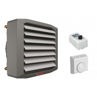 Lufterhitzer 20 kW Montagekonsolle Drezahlsteller Raumthermostat Hallenheizung Luftheizer