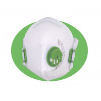 Atemschutzmaske FFP3 Feinstaubmaske Mundschutz mit Ventil Maske Staubmaske Staubschutzmaske