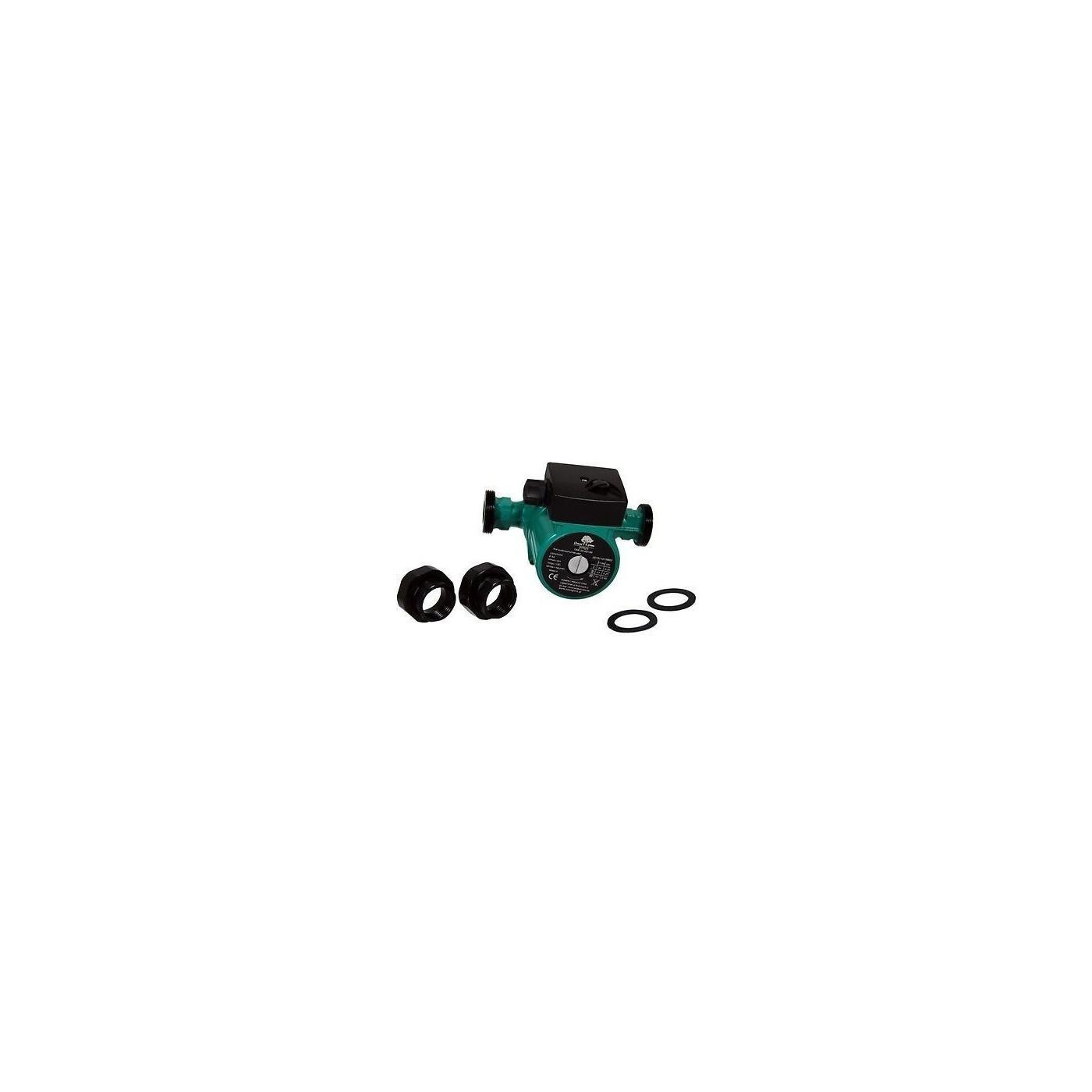 Umwälzpumpe 25-80 180 230V Heizungspumpe mit Verschraubungen