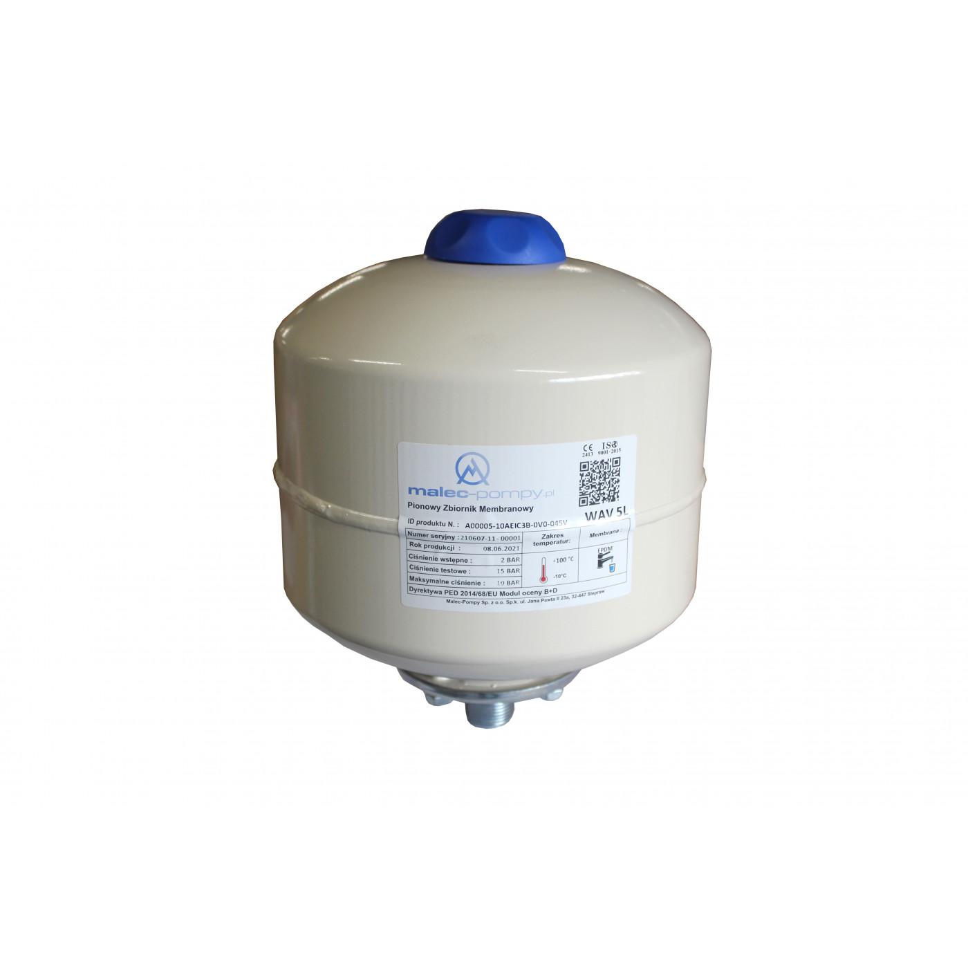 Universal Membran Druckausdehnungsgefäß 5-35L Brauchwasser Heizung Trinkwasser